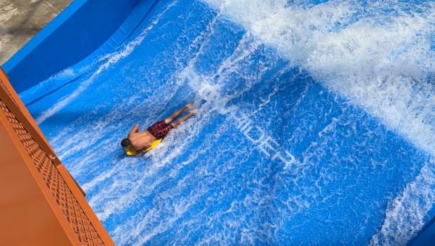 Kartrite Wasserpark Surf-Simulator Flowrider