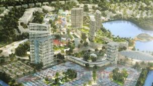 Malaysia Tourism City Konzeptgrafik