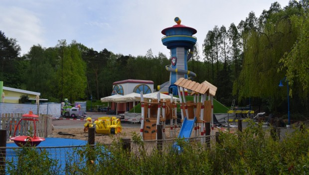 Movie Park Germany Adventure Bay neu 2019 Baustelle