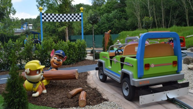 Movie Park Germany Adventure Bay neu 2019 PAW Patrol Adventure Tour