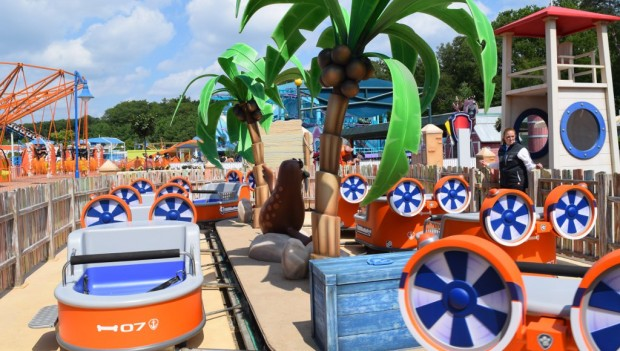 Movie Park Germany Adventure Bay neu 2019 Zuma's Zoomer (PAW Patrol)