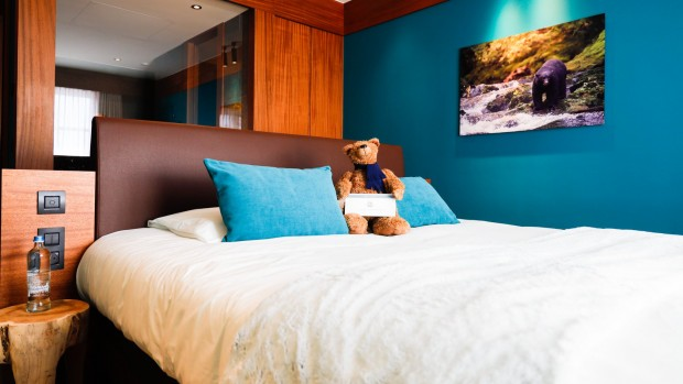 Pairi Daiza Paddling Bear Hotel Doppelzimmer