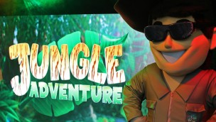 Paultons Park Jungle Adventure 2019 Live-Action-Show