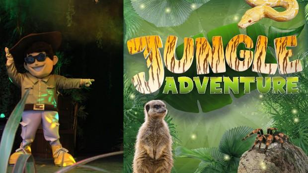 Paultons Park Jungle Adventure 2019 Bilder-Collage