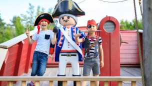 PLAYMOBIL-FunPark: Die Juni-Highlights 2019 mit neugestalteter Piratenwelt