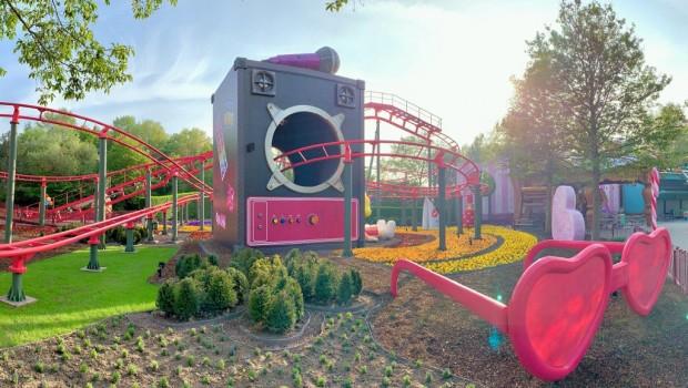 Plopsaland De Panne K3 Themenbereich (inkl. K3 Rollerskater) neu 2019