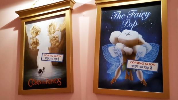 Popcorn Revenge Filmplakate Wartebereich