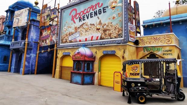 Popcorn Revenge Walibi Belgium Fassade