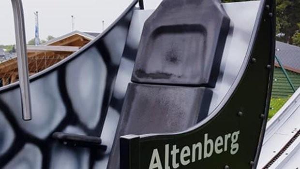 Rodelarena Altenberg Butterfly neue Gestaltung 2019