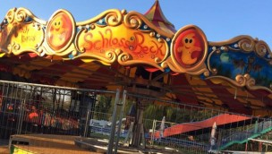 """Freizeitpark Schloss Beck 2019 neu mit """"Becki's Zauberkreisel"""": Aufbau von neuem Kinder-Karussell fast beendet"""