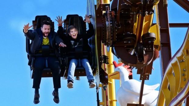 Schwaben-Park Wilde Hilde neue Achterbahn