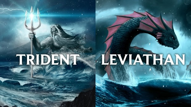 Sea World Australien New Atlantis Trident Leviathan Promo-Grafik