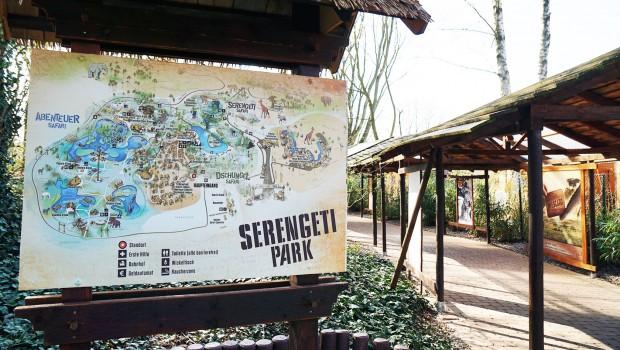 Serengeti-Park Parkplan EIngang