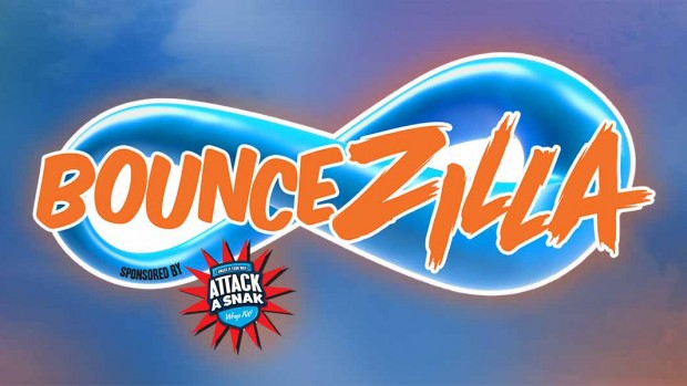 Thorpe Park BounceZilla Logo