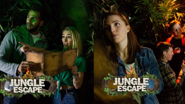 Thorpe Park Jungle Escape Team