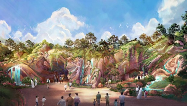 Tokyo DisneySea Fantasy Springs neu 2022 Artwork