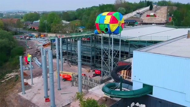 Waterworld Stoke-on-Trent Bauarbeiten 2019