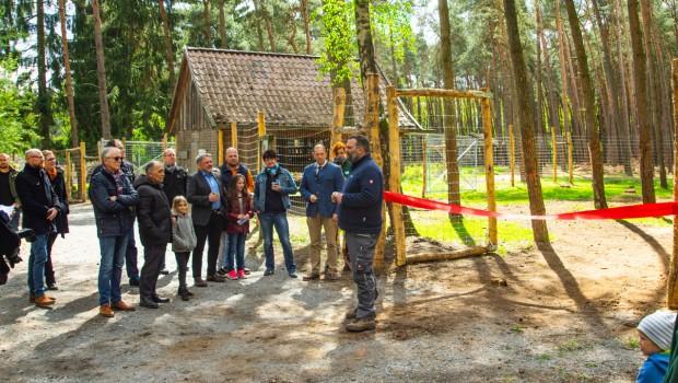 Wildpark Müden Einweihung Elchgehege Mai 2019