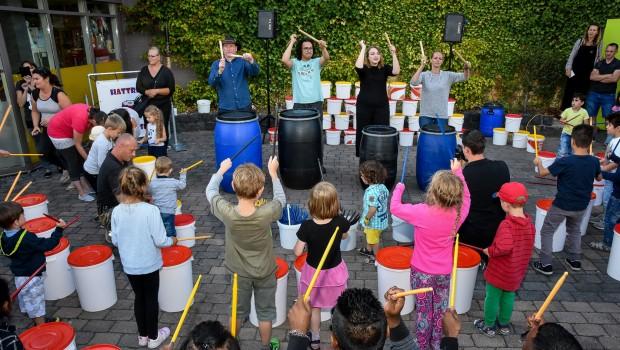 Kernie's Familienpark Wunderland Kalkar Music Day 2019 Trommelworkshop