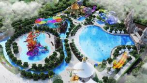 Angkor Water Park in Kambodscha mit 7 Rutschen für Ende 2019 geplant