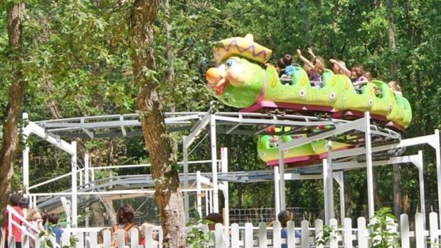 Animaparc Le petit huit – La super chenille (Achterbahn)