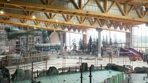 Rulantica-Baustelle sechs Monate vor Eröffnung: So sieht's im neuen Europa-Park-Wasserpark aus!