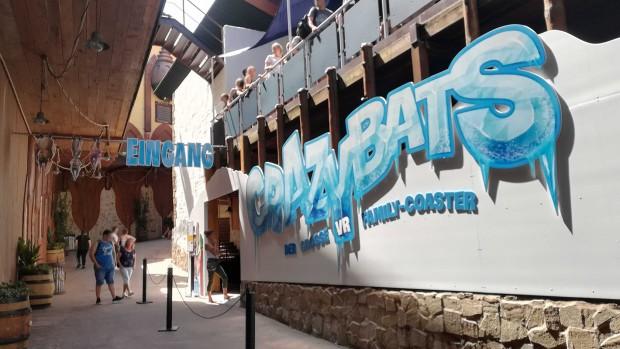 Crazy Bats Phantasialand Eingang