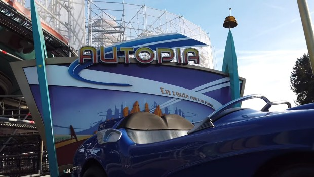 Disneyland Paris Autopia