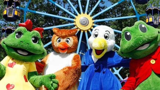 Duinrell Ferienpark Maskottchen