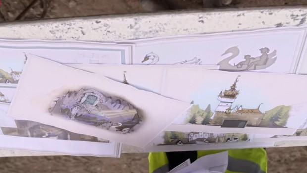 Efteling Die sechs Schwäne neu 2019 Artwork