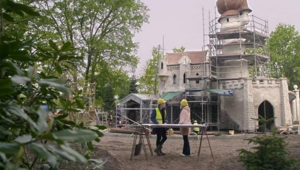 Efteling Die sechs Schwäne neu 2019 Baustelle