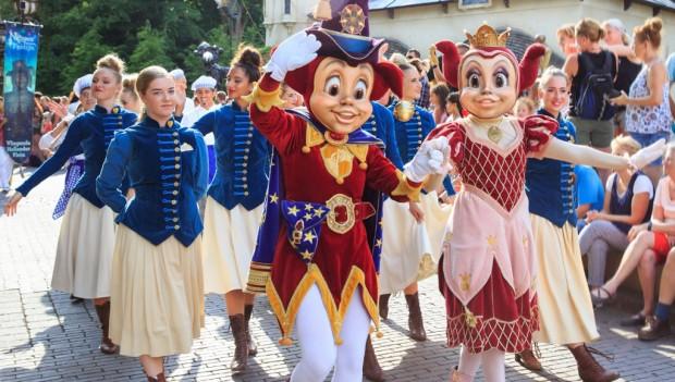 Efteling Negen Pleinen Festijn Parade