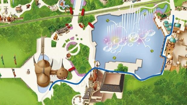 Efteling Übernachtungsgäste neue Route in den Park (Loonsche Land/Bosrijk)