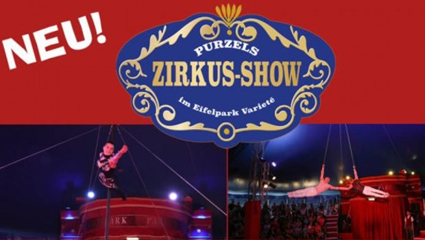 Eifelpark Purzels Zirkus-Show neu 2019