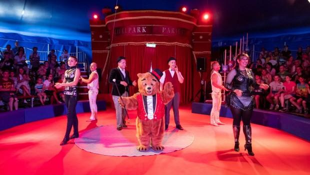 Eifelpark Purzels Zirkus-Show neu 2019 (Varieté-Zelt)