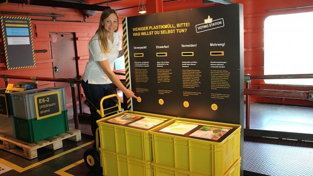 Erlebnis-Zoo Hannover Ausstellung Müll im Meer