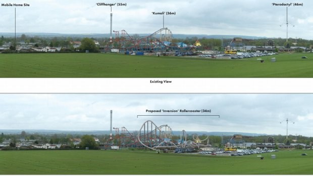 Flamingo Land neue Achterbahn 2020 (Intamin Multi Inversion Coaster)