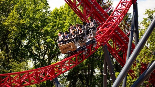 Freizeitpark Plohn Dynamite Achterbahn