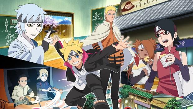 Fuji-Q Highland Naruto- und Boruto-Thematisierung Grafik