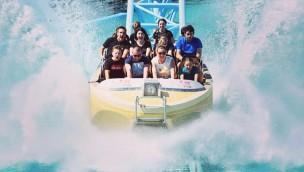 Fun Park Biograd Kroatien Wasser-Achterbahn