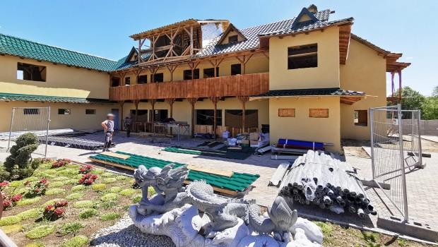 Geiselwind Drachenbucht Drachenküche Baustelle Juni 2019
