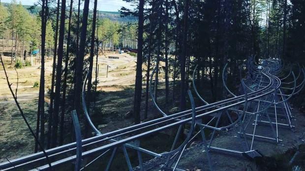 Isaberg Mountain Resort Wiegand Alpine Coaster Strecke