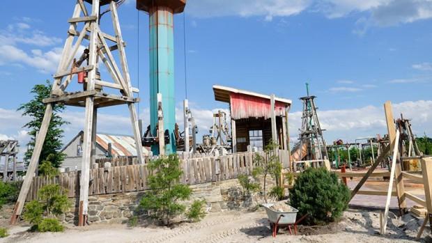 Jaderpark 2019 Yellowstone Water Company Hebeturm mit Bepflanzung
