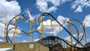 Kennywood Achterbahn Steel Curtain