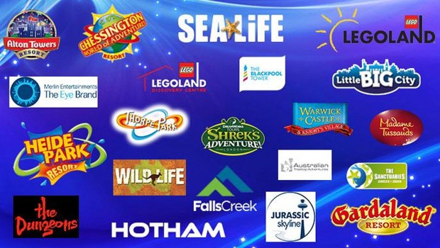 Merlin Entertainments Marken