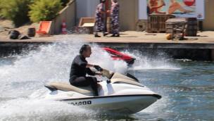 """Movie Park Germany veranstaltet 2019 wieder Jet-Ski-Stunt-Show am """"Santa Monica Pier"""""""
