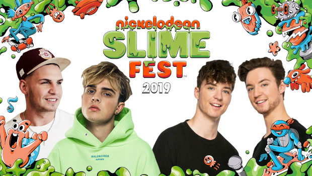 Nickelodeon Slime Fest 2019 Movie Park
