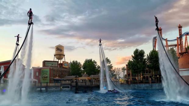 Parque Warner Aquaman Show Flyboards