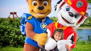 PAW Patrol-Figuren jetzt im Freizeitpark BELANTIS zu treffen