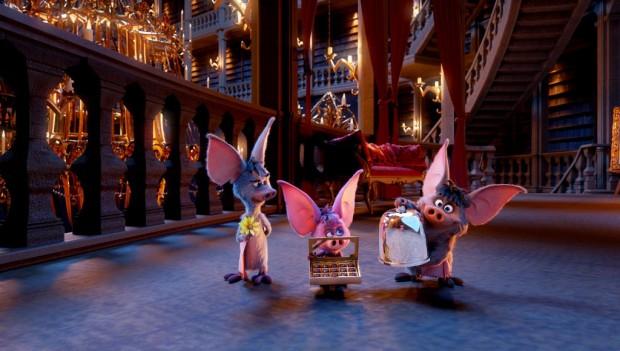 Besucher erkunden das weitläufige Schloss der drei Fledermäuse. (Foto: Phantasialand)